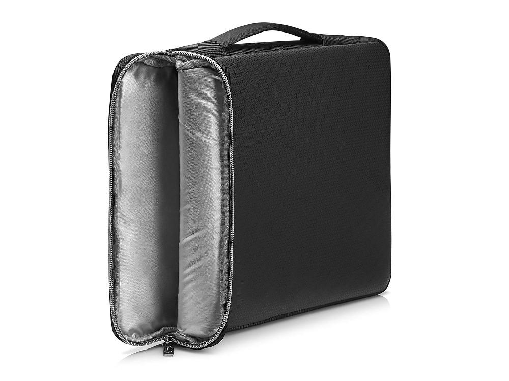 Чехол HP 17 Blk/Slv Carry Sleeve (3XD38AA) чехол для ноутбука 17 hp carry sleeve черный серебристый