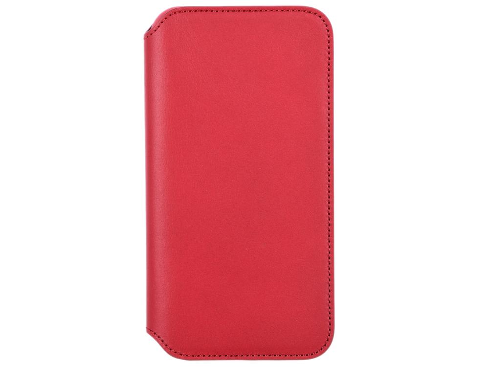 лучшая цена Чехол для смартфона Apple Leather Folio для iPhone XS, кожа, красный MRWX2ZM/A