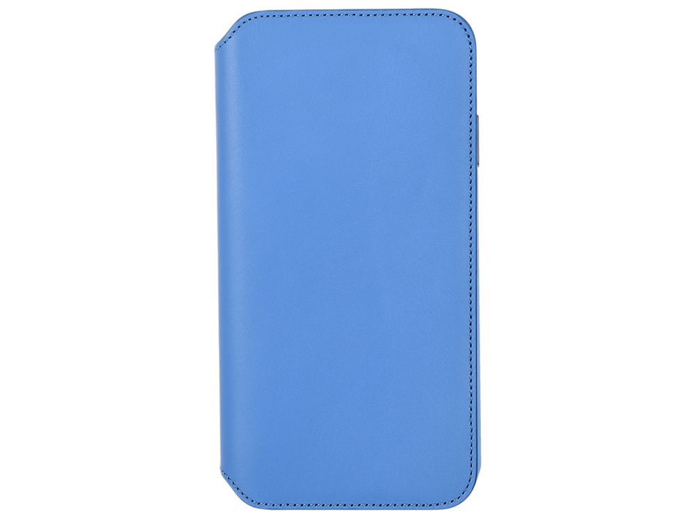 Чехол-книжка для iPhone XS Max Leather Folio - Cape Cod Blue флип, кожа чехол книжка apple leather folio для iphone x чёрный mqrv2zm a