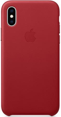 Чехол-накладка для iPhone XS Apple Leather Case MRWK2ZM/A Red клип-кейс, кожа карандаш для бровей superlast 24h eye brow pomade pencil waterproof essence глаза