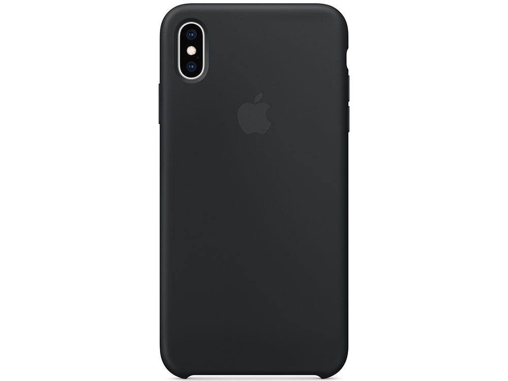 Чехол iPhone XS Max Silicone Case - Black