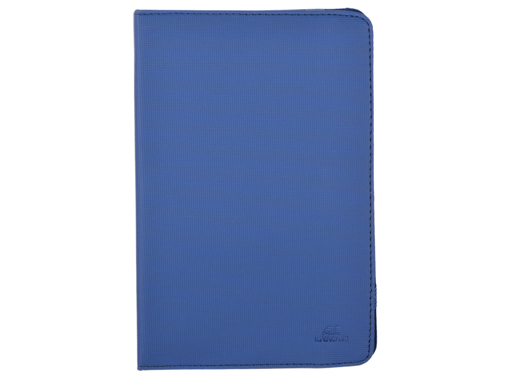 Чехол-книжка универсальный 8 RIVACASE 3214 Blue флип, полиуретан