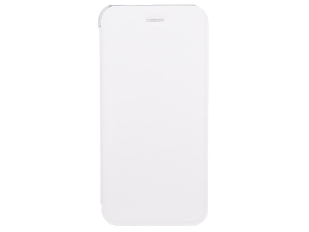Чехол-книжка для IPhone 6/7/8 BoraSCO Book Case White флип, кожзаменитель, пластик чехол книжка borasco book case для iphone x белый