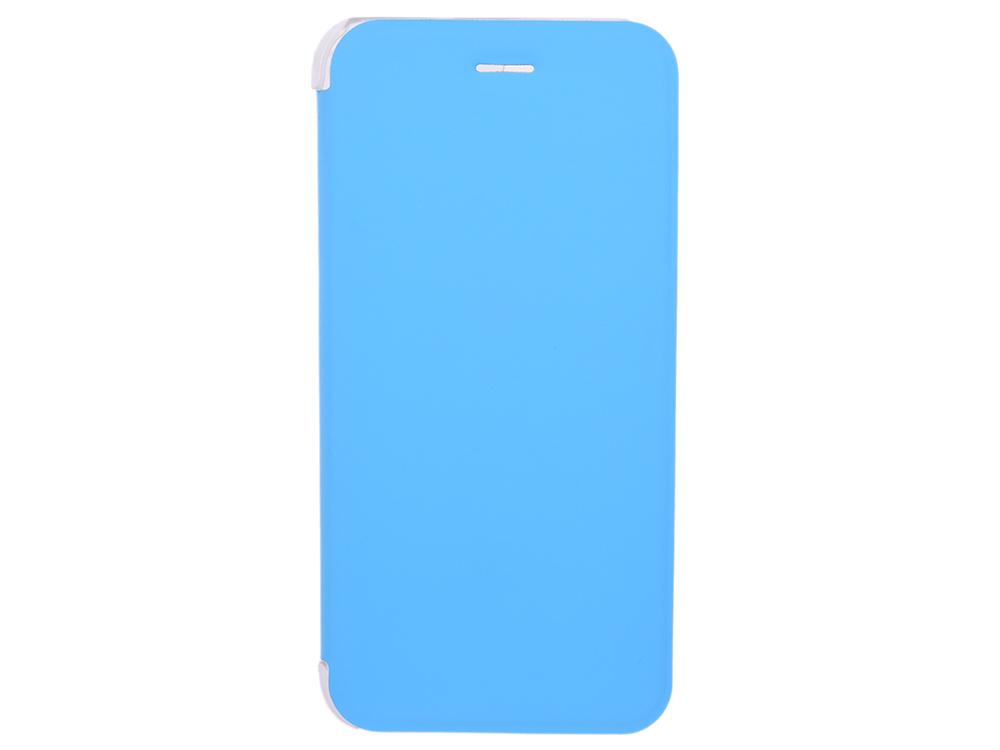 Чехол-книжка для IPhone 6/7/8 BoraSCO Book Case Blue флип, кожзаменитель, пластик чехол книжка borasco book case для iphone x белый