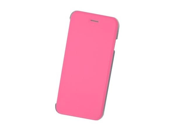 Чехол-книжка для IPhone 6/7/8 BoraSCO Book Case Pink флип, кожзаменитель, пластик elonbo flowers mosaic plastic back case for iphone 6 4 7 deep pink pink multi color