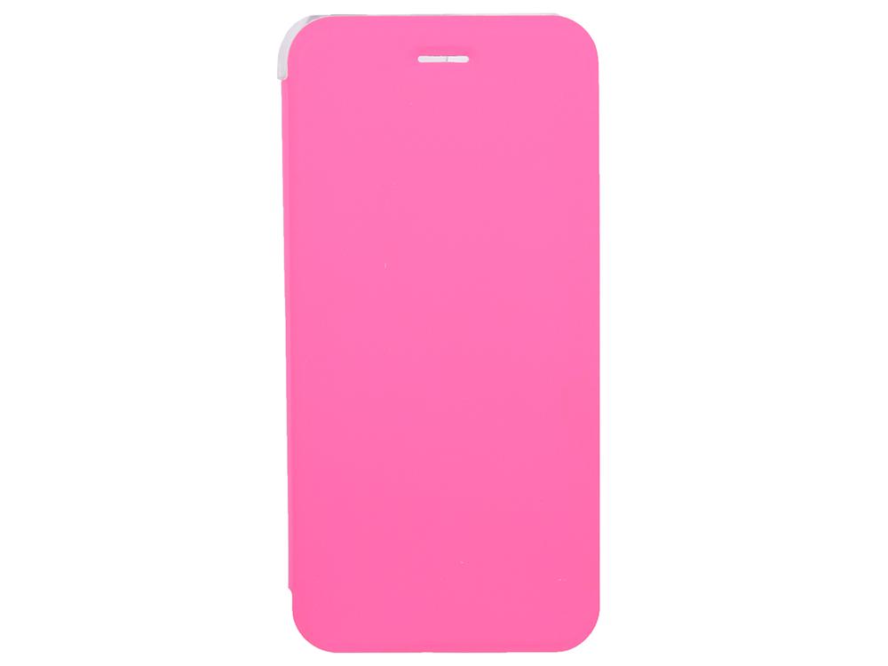 Чехол-книжка для IPhone 6/7/8 BoraSCO Book Case Pink флип, кожзаменитель, пластик чехол книжка borasco book case для iphone x белый