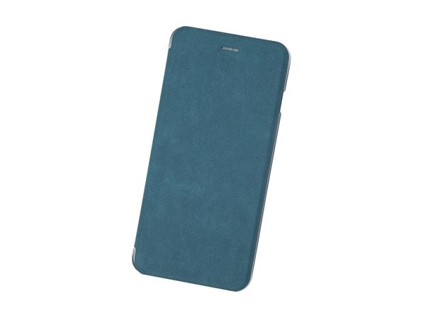 Чехол-книжка для IPhone 6+/7+/8+ Book Case BoraSCO Black флип, экозамша, пластик flip open protective pu case cover w view window for iphone 6 4 7 black translucent