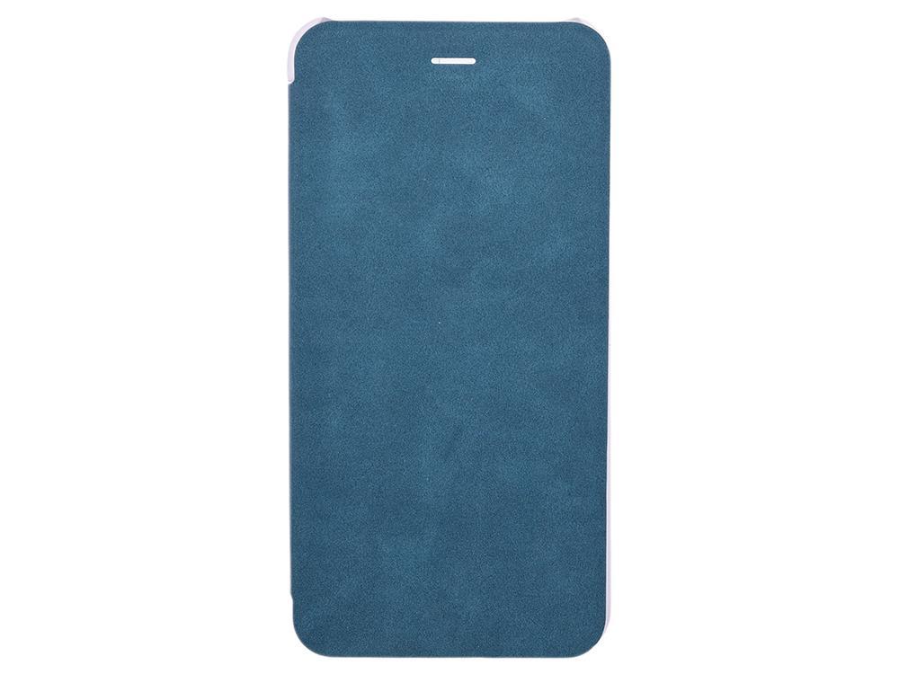 Чехол-книжка для IPhone 6+/7+/8+ Book Case BoraSCO Black флип, экозамша, пластик чехол книжка borasco book case для iphone x белый