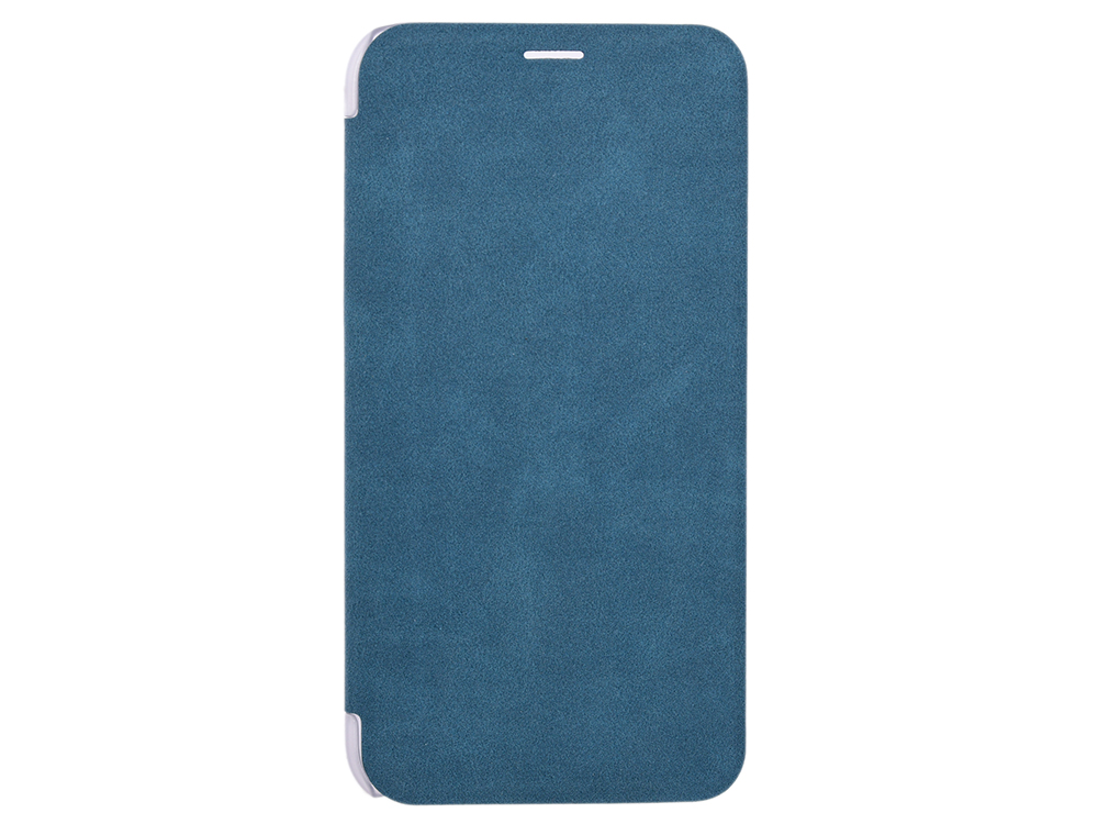 Чехол-книжка для IPhone X/ Xs Book Case BoraSCO Blue флип, экозамша, пластик цена и фото