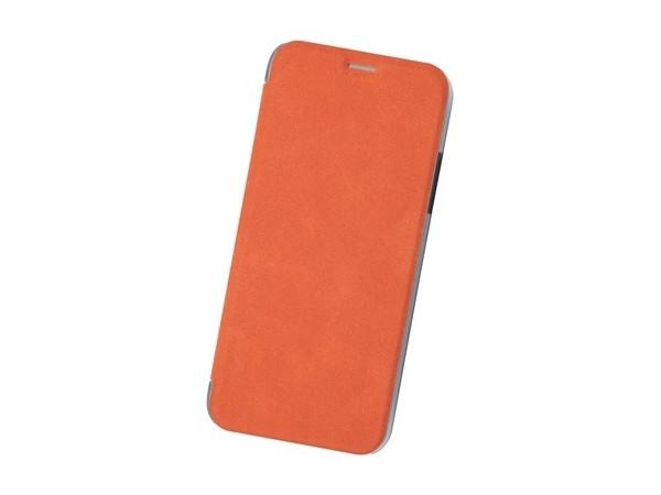 Чехол-книжка для IPhone X/ Xs BoraSCO Book Case Orange флип, кожзаменитель, пластик флип кейс euro line vivid для nokia x x