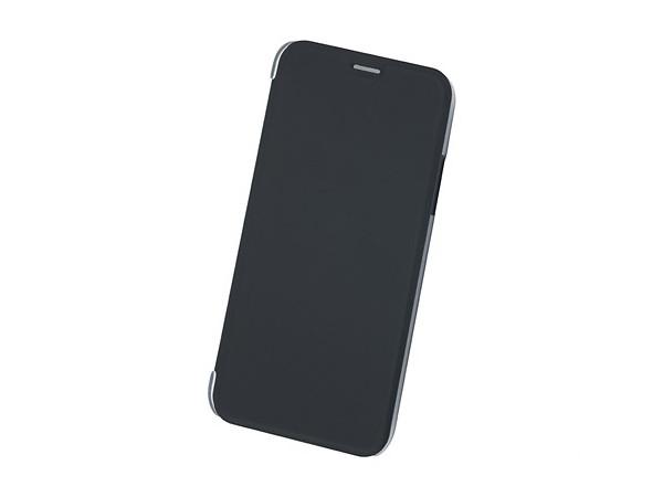 Чехол-книжка для IPhone X/ Xs BoraSCO Book Case Black флип, экозамша, пластик protective aluminum case for dsi ll black