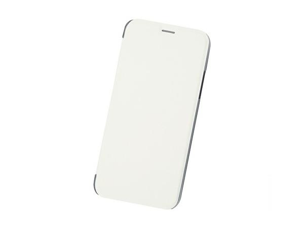 купить Чехол-книжка для IPhone X/ Xs BoraSCO Book Case White флип, кожзаменитель, пластик по цене 390 рублей