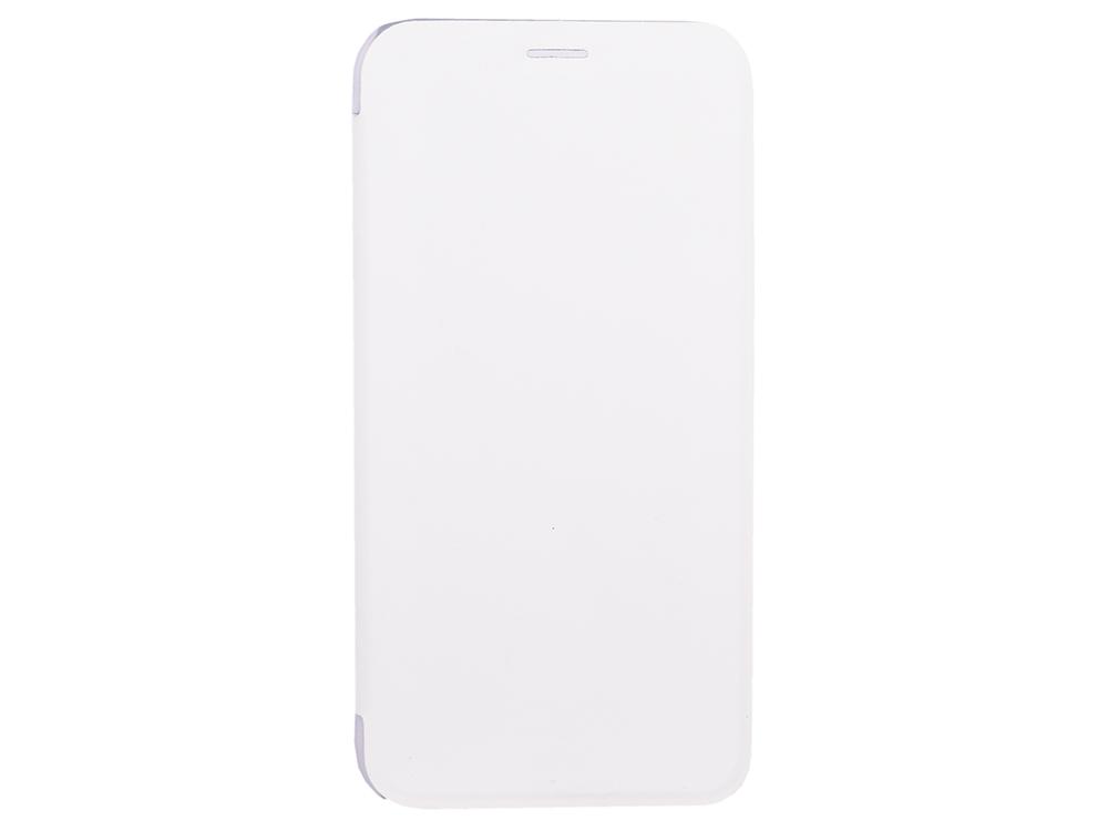 Чехол-книжка для IPhone X/ Xs BoraSCO Book Case White флип, кожзаменитель, пластик ecostyle shell чехол флип для explay x tremer