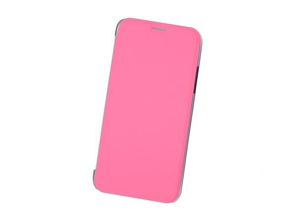 Чехол-книжка для IPhone X/ Xs BoraSCO Book Case Pink флип, кожзаменитель, пластик elonbo flowers mosaic plastic back case for iphone 6 4 7 deep pink pink multi color