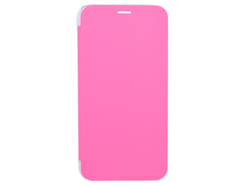Чехол-книжка для IPhone X/ Xs BoraSCO Book Case Pink флип, кожзаменитель, пластик ecostyle shell чехол флип для explay x tremer