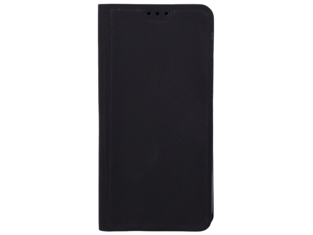 Чехол-книжка для Samsung Galaxy A6 BoraSCO Book Case Black флип, искусственная кожа аксессуар чехол для samsung galaxy a6 2018 neypo soft touch black st4652