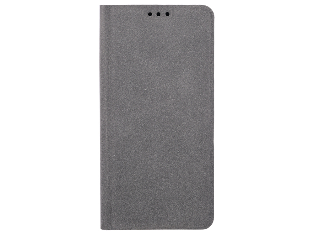 Чехол-книжка для Samsung Galaxy A6 BoraSCO Book Case Grey флип, экозамша, силикон celly frost чехол для samsung galaxy a3 2016 grey