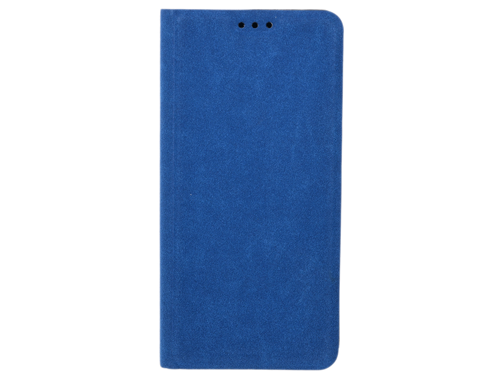 Чехол-книжка для Samsung Galaxy A8 BoraSCO Book Case Blue флип, экозамша, силикон цена и фото