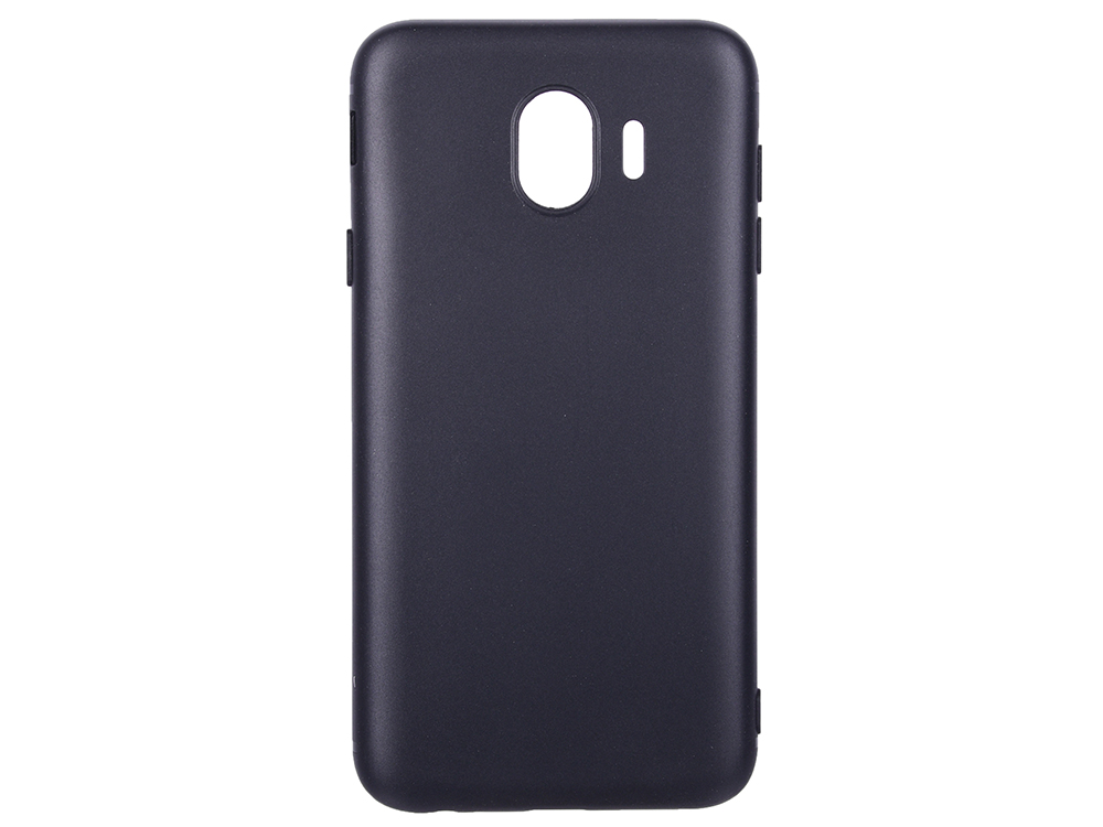 Чехол для Samsung Galaxy J4 BoraSCO Mate Black поликарбонат аксессуар чехол onext для samsung galaxy j4 2018 black 70681