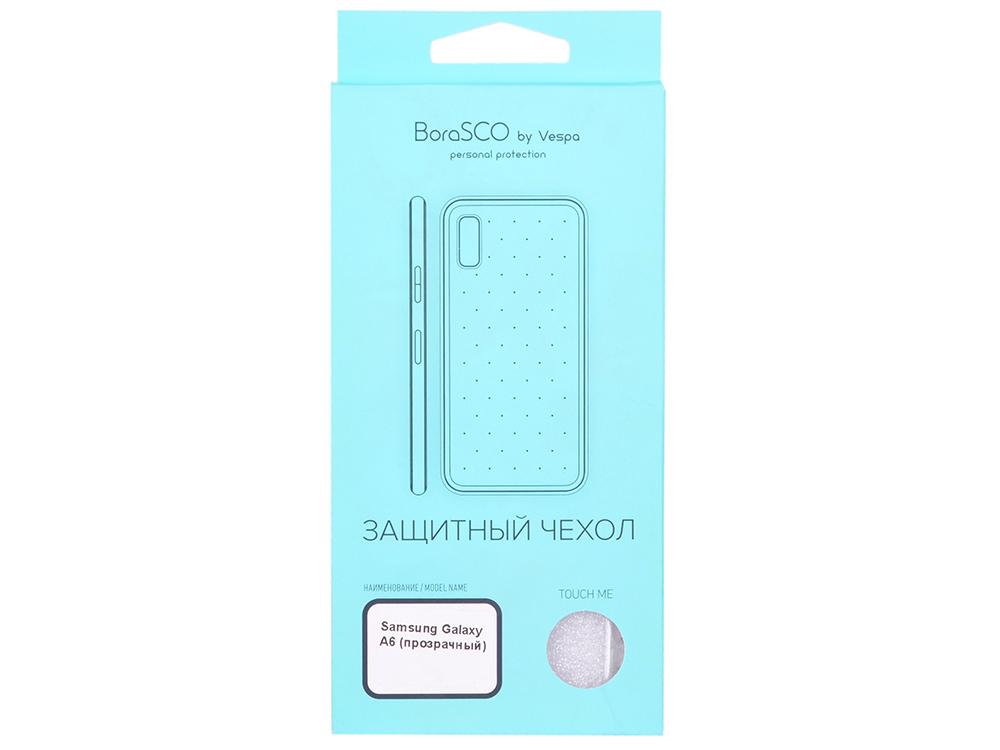 Фото - Чехол-накладка для Samsung Galaxy A6 BoraSCO клип-кейс, силикон чехол