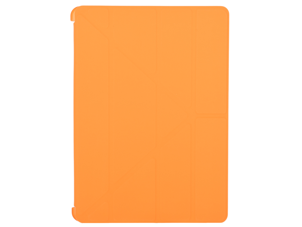 Чехол-книжка для Apple iPad Air 2 BoraSCO Orange книжка, пластик untamo accentika для apple ipad air 2 white
