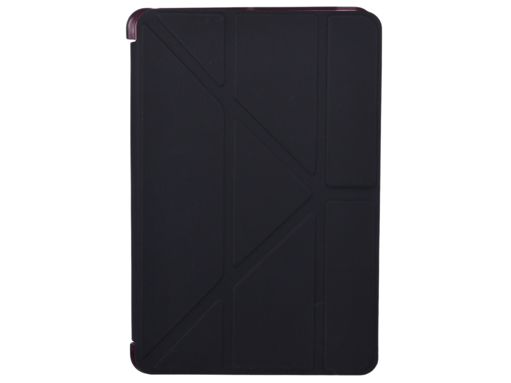 Чехол-книжка для iPad mini Retina 1/2/3 BoraSCO Black флип, пластик
