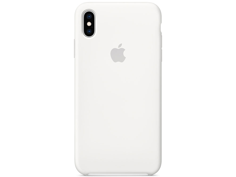 iPhone XS Max Silicone Case - White чехол для apple iphone xs max silicone case white