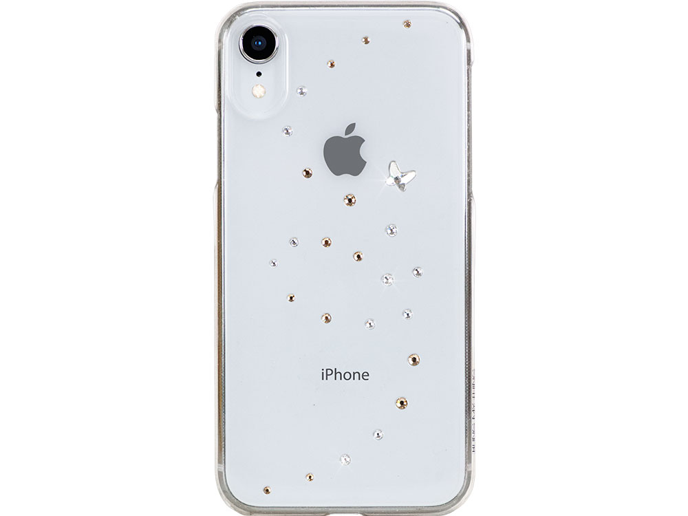 цены на Чехол Bling My Thing для iPhone XR с кристаллами Swarovski. Коллекция Papillon. Дизайн Angel Tears.