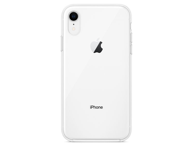 Чехол-накладка для iPhone XR Apple Clear Case клип-кейс, полиуретан, поликарбонат, прозрачный oldshark 0 4x универсальный супер широкий угол объектива камеры клип на комплект для iphone