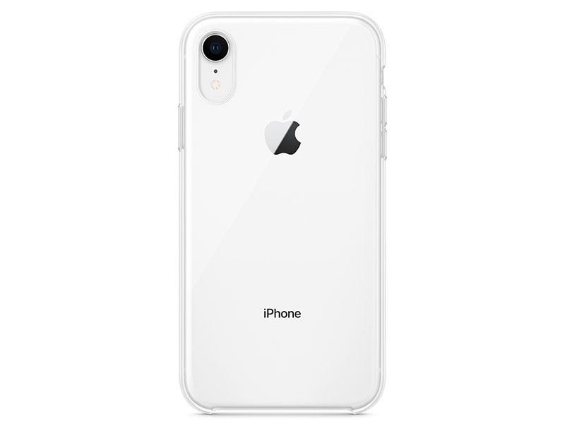 Чехол-накладка для iPhone XR Apple Clear Case клип-кейс, полиуретан, поликарбонат, прозрачный чехол накладка для apple iphone 7 plus deppa 83272 air case black клип кейс поликарбонат