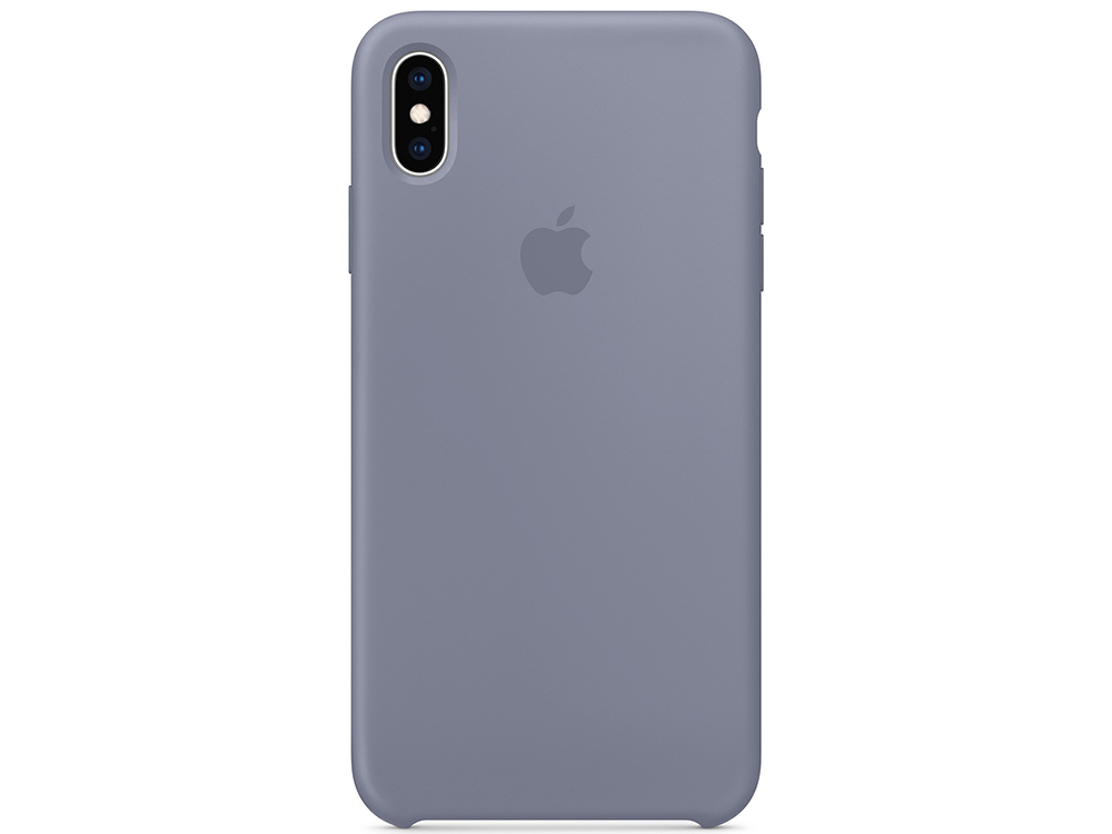 Чехол для смартфона Apple MTFH2ZM/A iPhone XS Max Silicone Case - Lavender Gray чехол для apple iphone 7 leather case storm gray