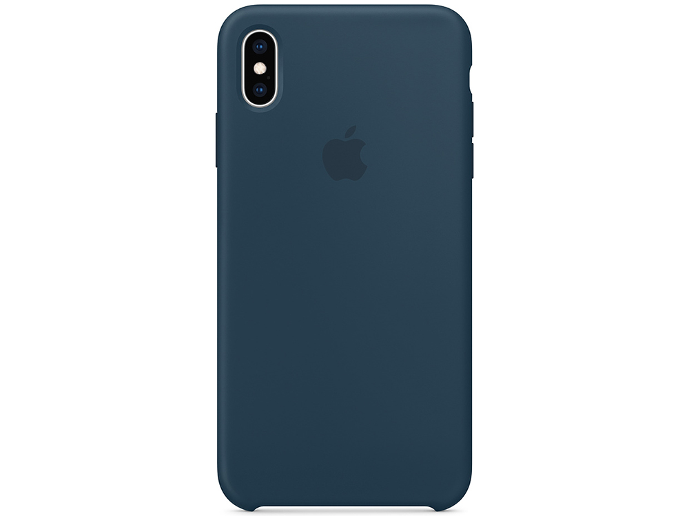 Чехол iPhone XS Max Silicone Case - Pacific Green camouflage pattern silicone protective case for xbox 360 controller blue green