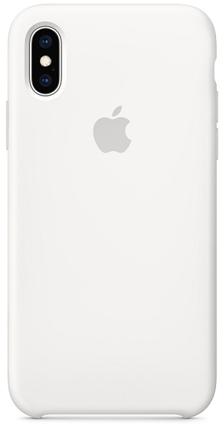 Силиконовый чехол Apple Silicone Case MRW82ZM/A для iPhone XS - White аксессуар чехол для apple iphone 6 innovation silicone transparent 12216