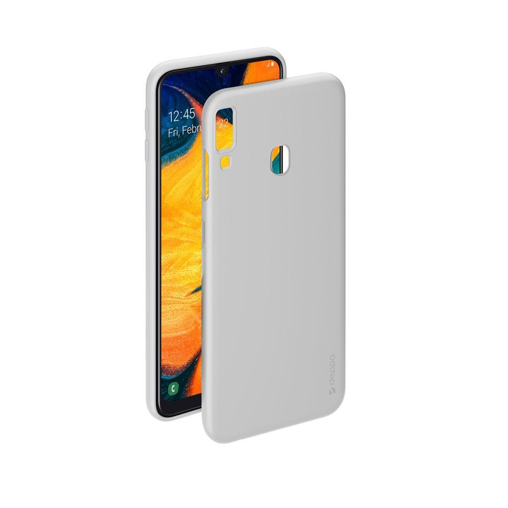 Чехол Deppa Gel Color Case для Samsung Galaxy A30/A20 (2019), белый стоимость
