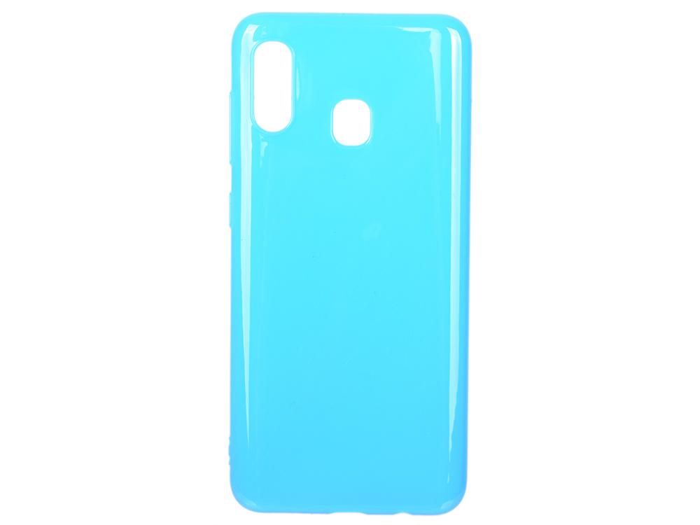 Чехол Deppa Gel Color Case для Samsung Galaxy A30/A20 (2019), синий deppa fifa москва чехол для samsung galaxy j3 2017 blue