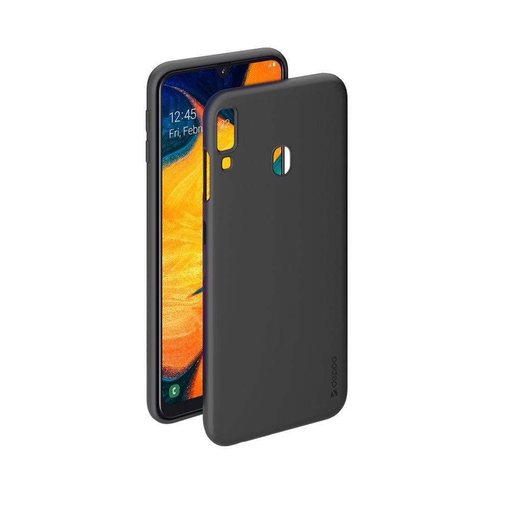Чехол Deppa Gel Color Case для Samsung Galaxy A30/A20 (2019), чёрный цена и фото