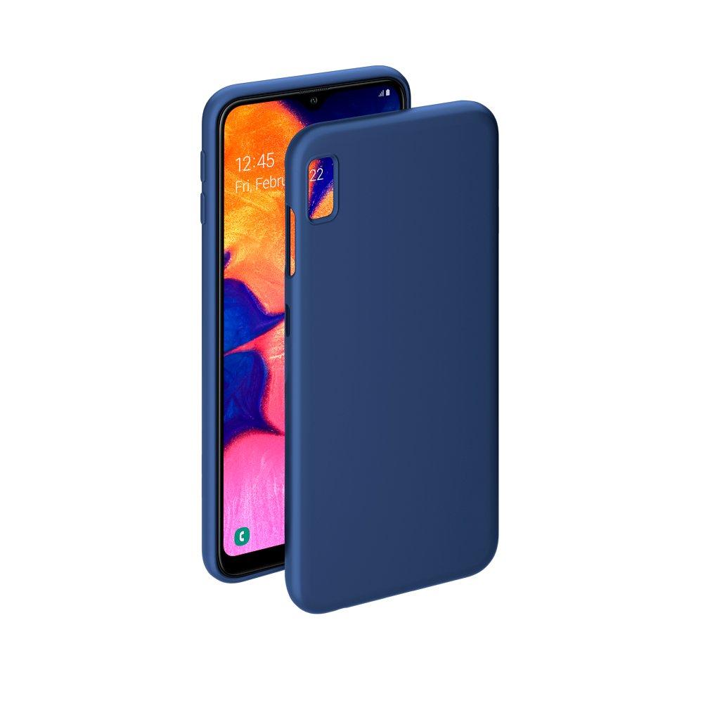 Чехол Deppa Gel Color Case для Samsung Galaxy A10 (2019), синий deppa fifa москва чехол для samsung galaxy j3 2017 blue
