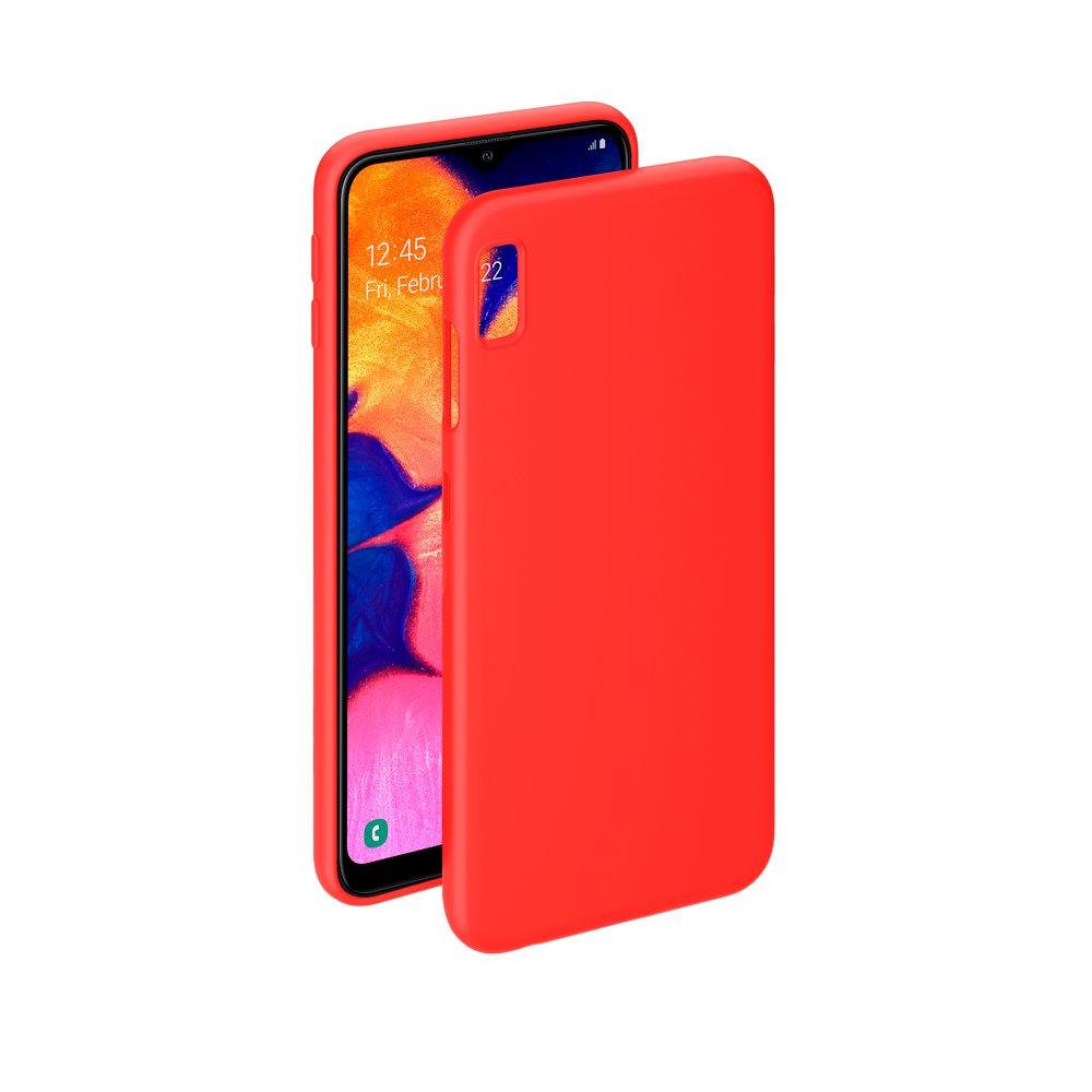 Чехол Deppa Gel Color Case для Samsung Galaxy A10 (2019), красный цена и фото