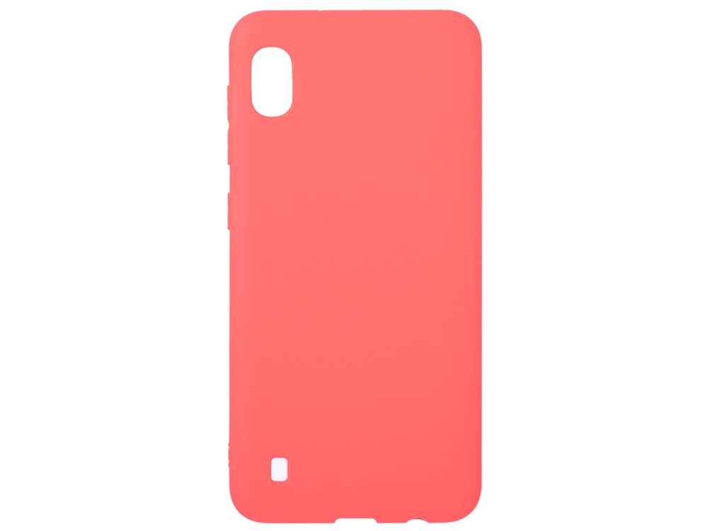 Чехол Deppa Gel Color Case для Samsung Galaxy A10 (2019), красный стоимость