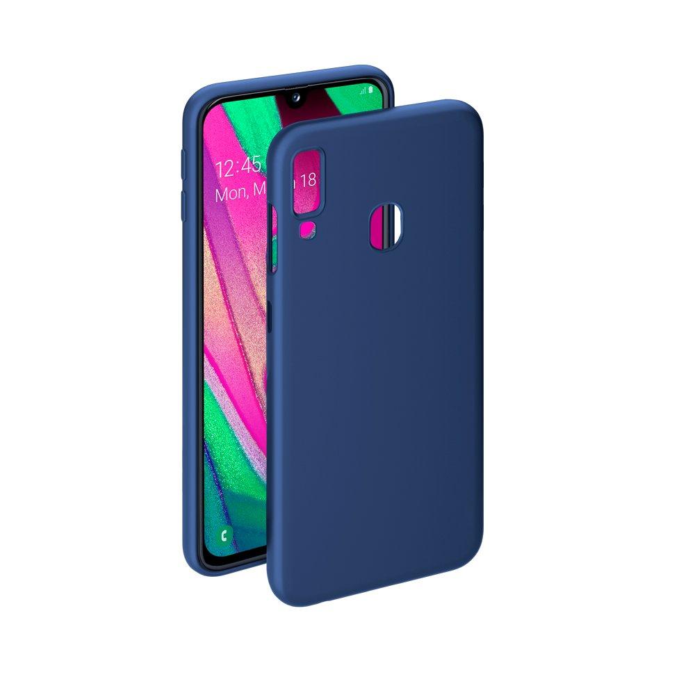 Чехол Deppa Gel Color Case для Samsung Galaxy A40 (2019), синий цена и фото