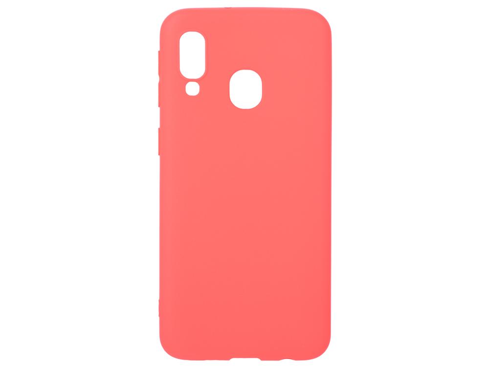 Чехол Deppa Gel Color Case для Samsung Galaxy A40 (2019), красный стоимость
