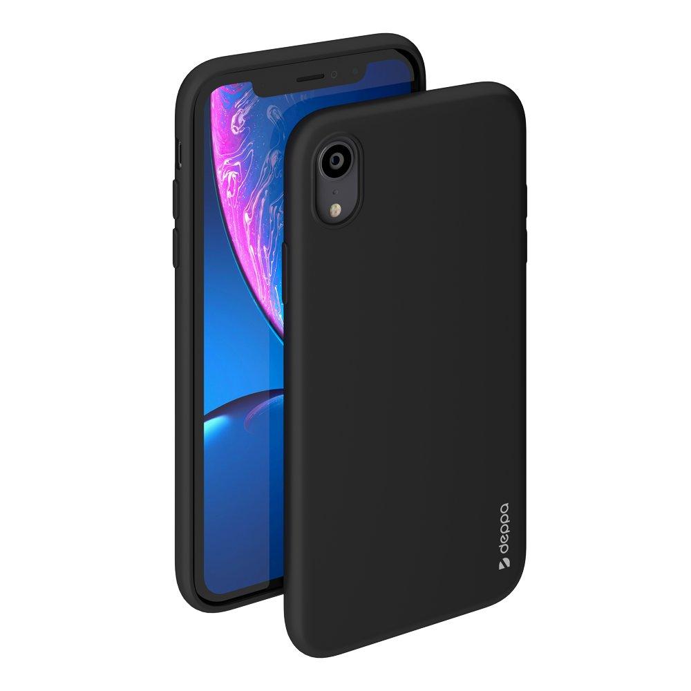 Чехол Deppa Gel Color Case для Apple iPhone XR, черный чехол клип кейс deppa glass case для apple iphone xr золотистый [86511]