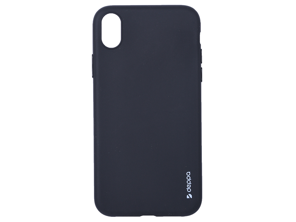 Чехол Deppa Gel Color Case для Apple iPhone XR, черный все цены