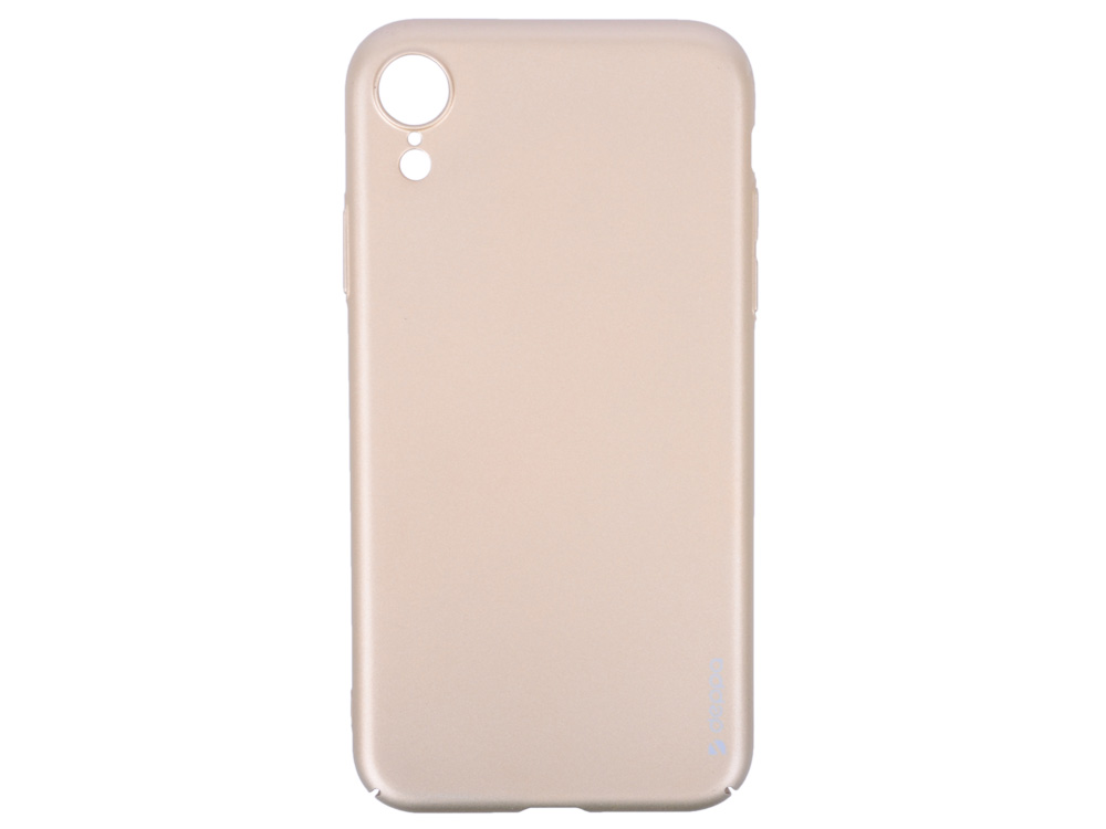 Чехол Deppa Air Case для Apple iPhone XR, золотой deppa art case чехол для apple iphone 5 5s танки эмблема
