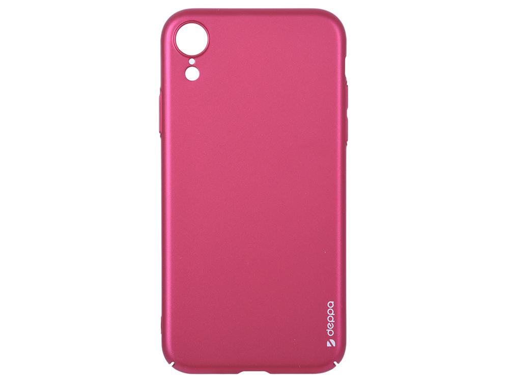 Чехол Deppa Air Case для Apple iPhone XR, красный цена