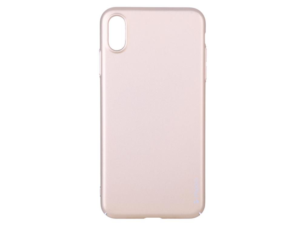 Чехол Deppa Air Case для Apple iPhone XS Max, золотой чехол deppa gel case для apple iphone xs max прозрачный