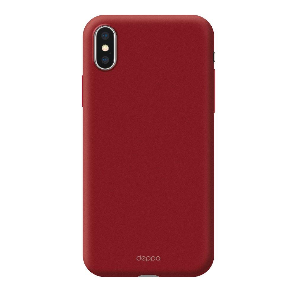 Чехол Deppa Air Case для Apple iPhone XS Max, красный чехол deppa air case для apple iphone x xs розовое золото