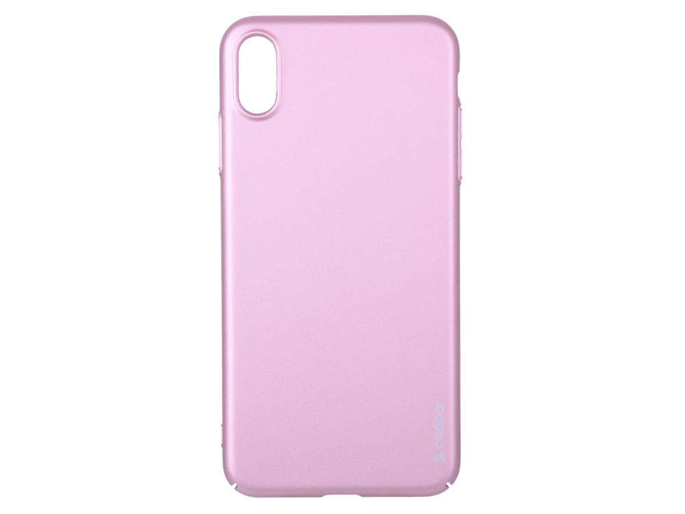 Чехол Deppa Air Case для Apple iPhone XS Max, розовое золото goowiiz розовое золото iphone 8