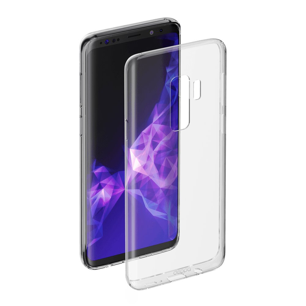Чехол Deppa Gel Case для Samsung Galaxy S9+ , прозрачный цена 2017