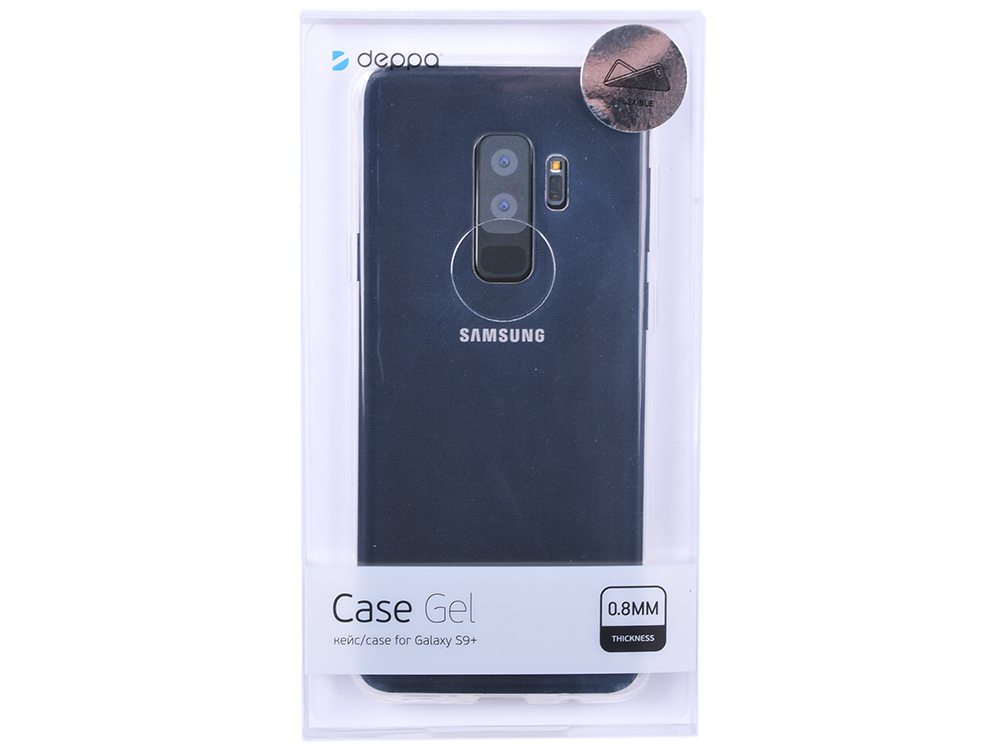 Чехол Deppa Gel Case для Samsung Galaxy S9+ , прозрачный нейлон nillkin samsung s8plus tpu прозрачный мягкий чехол чехол телефонный чехол белый